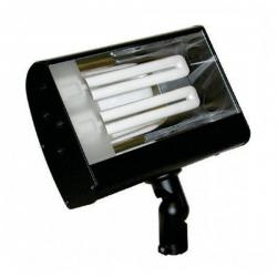 Orbit Industries - S626-WH - White Aluminum Compact Fluorescent Wide Flood Light Fixture