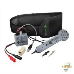 Greenlee - 701K-G - Tone & Probe Kit, Standard (CLAM) -- 77HP-G High Power Tone Generator - 200EP Tone Probe Amplifier