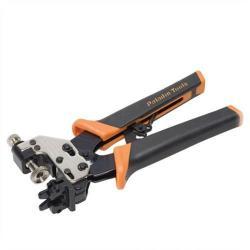 Paladin Tool - PA1559 - Crimper Mini Coax Pro Universal -- Works with RG6, RG6 Quad, RG59 & RG62AU coax cables