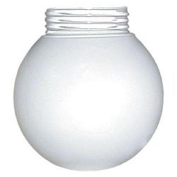 RAB Lighting - GL100BPGO - Unbreakable Polycarbonate Threaded Globe