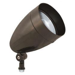 RAB Lighting HBLED10DCA LED Flood Light Fixture 10 Watt 5200K Bronze