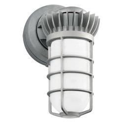 RAB Lighting - VXBRLED26YDG - LED Vapor Proof Wall Fixture -- 26 Watt - 120/277V - 83 CRI - 3000KWarm White - Natural Metal Finish