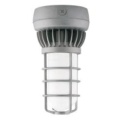 RAB Lighting - VXLED26DG - LED Vapor Proof Ceiling Fixture -- 26 Watt - 120/277V - 68 CRI - 4900K Cool White - Natural Metal Finish
