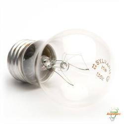 Sylvania 10019 - 15W Incandescent A15 Clear Light Bulb - 2850K