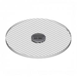 Soraa - 01595 - AC-E-GE-1036-00 - Snap System - Linear Lens -- 10-Degree X 36-Degree Beam Angle