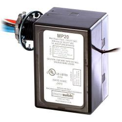 Sensor Switch - MP-20 - Plenum Rated Power Pack -- 120/240/277V - Black