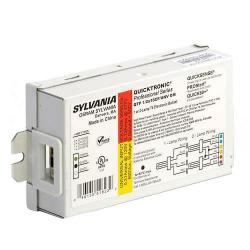 Sylvania - 51823 - QTP 1/2X18CF/UNV DM - Electronic CFL Ballast -- 18 Watt - Universal Voltage - Dual Entry - Programmed Rapid Start - QUICKTRONIC - (1-2) D/E, T/E CFL Bulbs - 120-277V