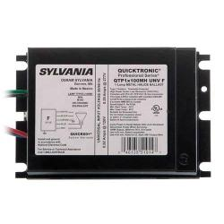 Sylvania - 51914 - QTP1X100MH/UNV-F - Electronic Metal Halide Ballast F-Can -- 100 Watt - (1) M90/M140, C90/C140 - Pulse Start - Universal Voltage - QUICKTRONIC Electronic - 120-277V