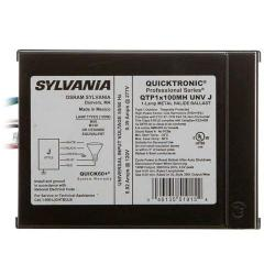 Sylvania - 51915 - QTP1X100MH/UNV-J - Electronic Metal Halide Ballast J-Can -- 100 Watt - (1) M90/M140, C90/C140 - Pulse Start - Universal Voltage - QUICKTRONIC Professional - 120-277V