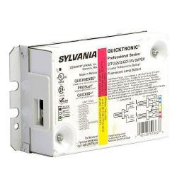Sylvania - 51863 - QTP2X26/32/42CF/UNV-DM-PEM - Electronic CFL Ballast -- PEM Studs - Programmed Rapid Start - (2) 26W, 32W, 42W CFLs - Universal Voltage - QUICKTRONIC Professional - 120-277V