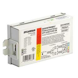 Sylvania - 51833 - QTP 2X26/CF/UNV DM - Electronic Compact Fluorescent Ballast -- Programmed Rapid Start - 26 Watt - (1-2) DD/E, T/E CFLs - QUICKTRONIC - Bottom or Side Leads - 120-277V