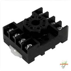 Selecta Switch - SR67083A - Relay Socket for 67S2 Series -- Track/Surface Mounting - 8-Pin Octal Receptacle