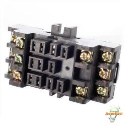 Selecta Switch - SR6811N - Track/Surface Mounting Relay Socket for 68S2 & 68S3 Series
