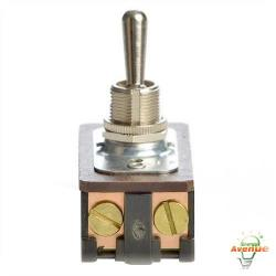 "Selecta Switch - SS211-16A-BG - On/Off Toggle Switch -- 20 Amp - DPST - 125VAC - Screw Term - 15/32"" Diameter Bushing"