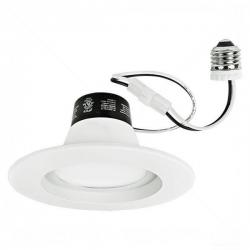 TCP Lighting - LED14DR5630K - 5 to 6 inch LED Dimmable Recessed Downlight Retrofit - 85 Watt Replacement