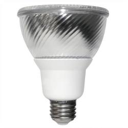 TCP Lighting - PF301635K - Flat PAR30 Compact Fluorescent Flood Lamp - 16 Watt - Medium (E26) Base - 82 CRI - 3500K Warm White