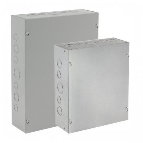 Hoffman ASE24X24X12NK - Pull Box - Screw-Cover - Gray - Steel