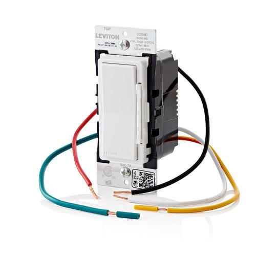 Leviton D26HD-1BW - 600W Smart WiFi Dimmer