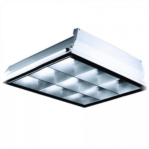 Lithonia Lighting   PT2U MV   2x2 Lay In 9 Cell 2 Lamp Parabolic