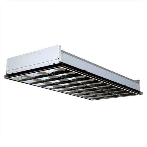 commercial lighting fixtures commercial industrial lithonia lighting pt3lw mv 2x4 lay in 18 cell 3 lamp parabolic