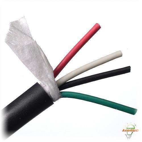 Cable Coax Multi Conductor : Belden u black multi conductor water blocked