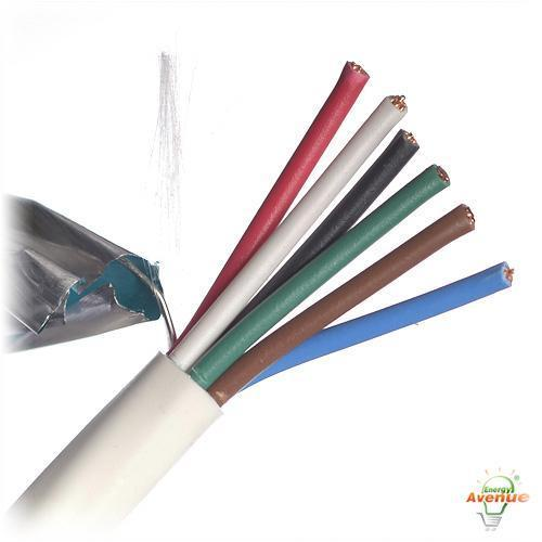 Polyvinyl Chloride Cable : Belden fe natural color security and alarm