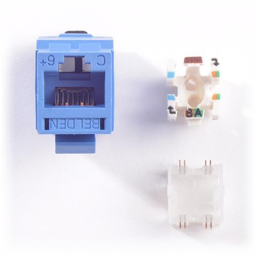[SCHEMATICS_48EU]  Belden - RV6MJKUBL-S1 - Modular Jack - REVConnect - CAT6 - RJ45 - Blue |  Energy Avenue | Belden Cat 6 Jack Wiring |  | Energy Avenue