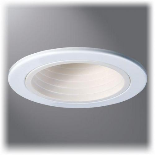 Cooper Lighting 4001WB - 4 Inch White Baffle, White Trim