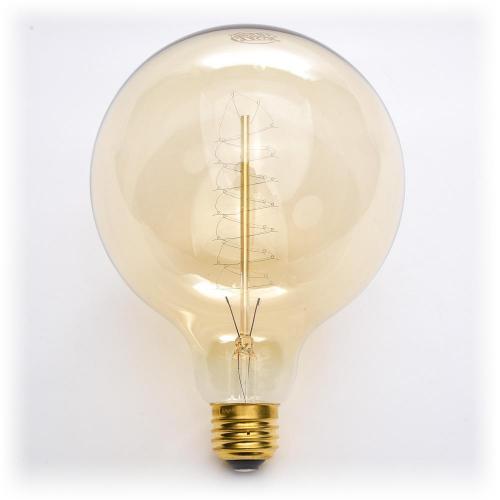 Classic Bulb Globe G40 40 Watt Spiral Filament