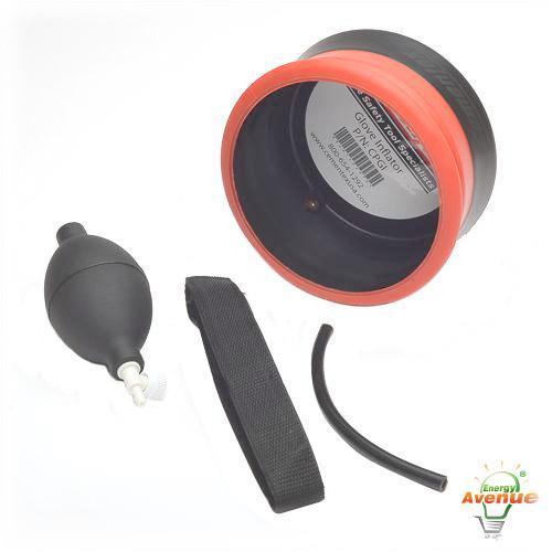 Testing High Voltage Rubber Gloves : Cementex cpgi rubber glove inflator energy avenue
