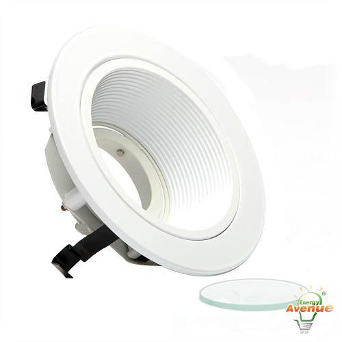 Cooper Lighting - ERT401LVW - 4 Inch Baffle With White Trim