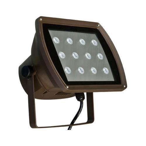dabmar df led5955 bz led flood light 12 watt 120v 6400k. Black Bedroom Furniture Sets. Home Design Ideas