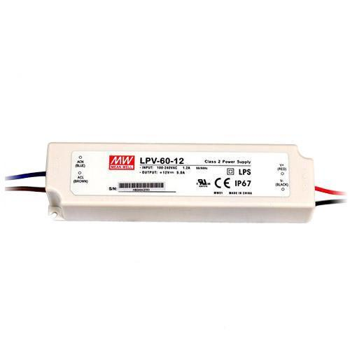Mean Well - LPV-60-12 - 60W LED Driver