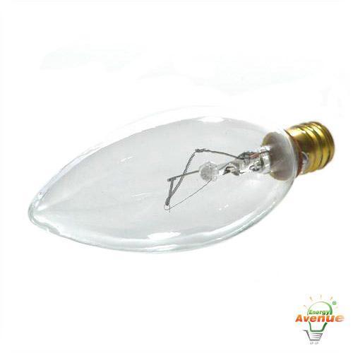 Feit 60ctc 130 Incandescent Light Bulb 60 Watt Torpedo Tip