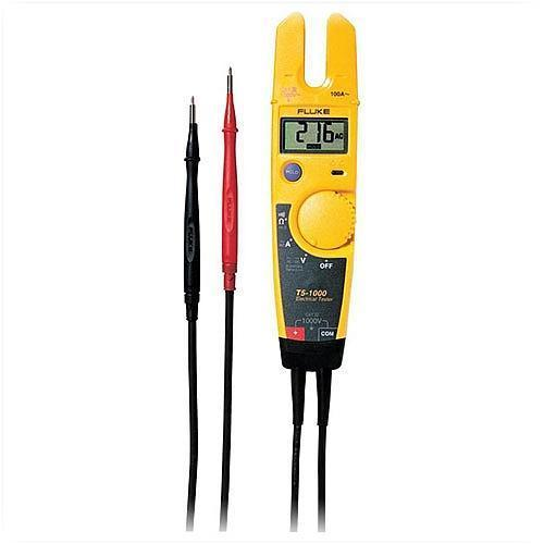 Electrical Current Tester : Fluke t voltage continuity and current tester