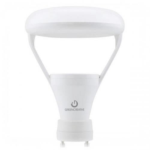 Green Creative 98024 - 9.5W LED BR30 - 2700K - GU24