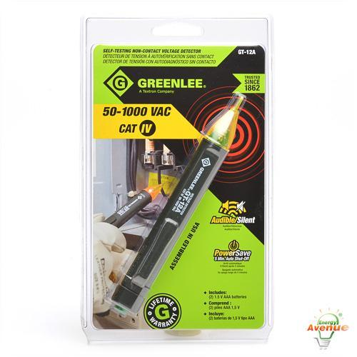 Greenlee Voltage Tester : Greenlee gt a self testing none contact voltage detector