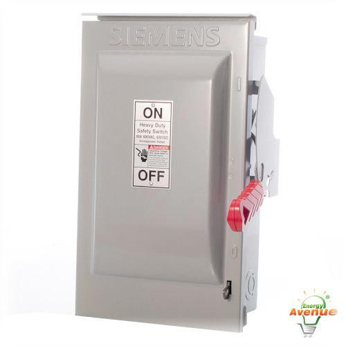 Siemens hf361rpv enclosed solar photovoltaic disconnect switch siemens hf361rpv enclosed solar photovoltaic disconnect switch fusible 30 amp greentooth