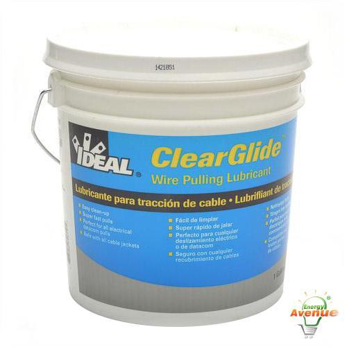 Ideal 31-381 ClearGel Wire Pulling Lubricant 1 Gallon UL Listed ...