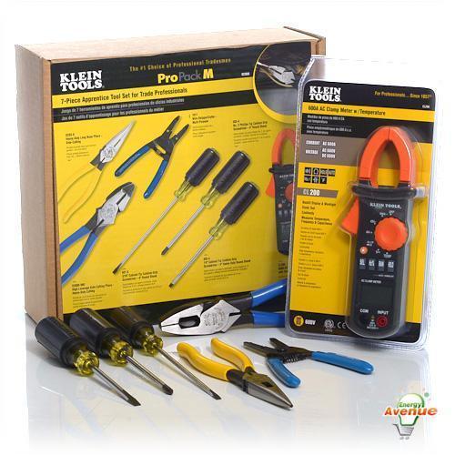 Klein Tools 92908 Klein 7 Piece Apprentice Tool Set With