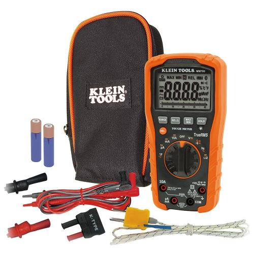 Klein Tools Mm700 Auto Ranging 1000v Digital Multimeter