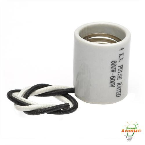 Leviton 70046 Medium Porcelain Socket E26 660 Watts 600