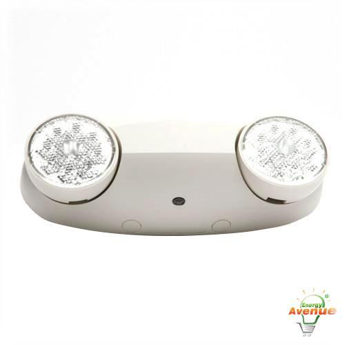 lithonia elm2 led quantum emergency bugeye unit 3 watt white finish