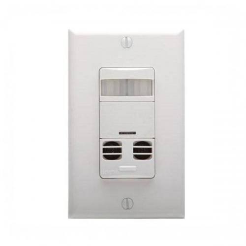 Leviton - OSSMT-GDW - Occupancy Sensor -- White - UL listed - 5 Year Warranty - Wall Mount