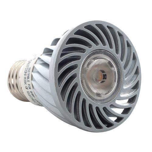 Lighting Science Group - R2010010-028 - DFN20W27FL120 - Definity LED Flood Light Bulb -- 8 Watt - Medium (E26) Base - PAR20 Bulb - Dimmable - 120VAC & 230VAC - 2700K Warm White - 40-Degree Beam Angle - 50 Watt Halogen Equivalent
