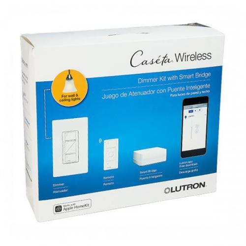 Lutron P Bdg Pkg1w Caseta Wireless Smart Bridge Dimmer Kit