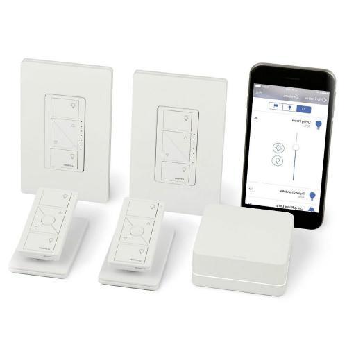 Lutron P-BDG-PKG2W Caseta Wireless 2 Dimmer Kit