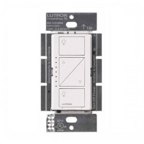 Lutron PD-10NXD-WH - Caseta Wireless In-Wall Dimmer PRO - White