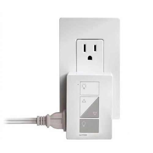 Lutron - PD-3PCL-WH - Plug In Dimmer -- White - 30 Ft Range