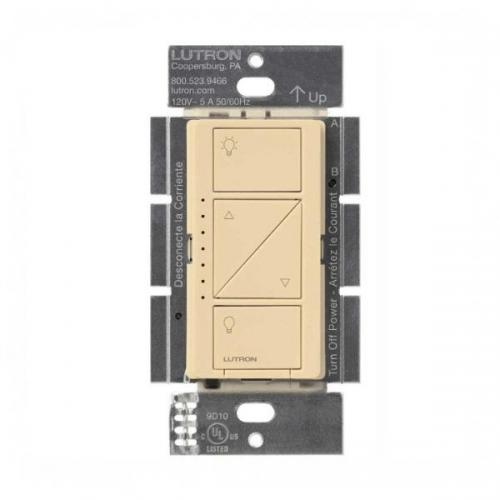 Lutron - PD-6WCL-IV - Wireless In Wall Dimmer